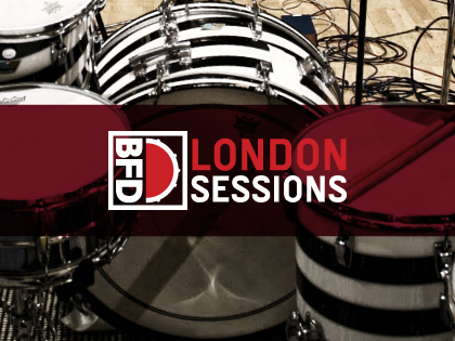 BFD London Sessions扩展鼓音色