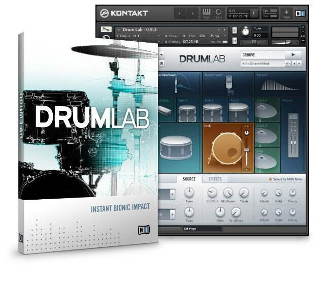 Native Instruments Drumlab KONTAKT