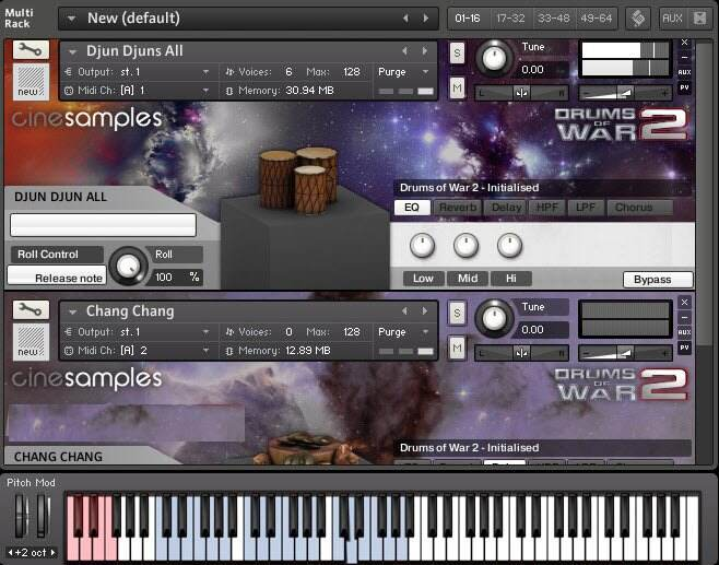 Cinesamplеs Drums Of War 2 KONTAKT