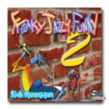 Big Fish Audio Freaky Jazzy Funky CD1-3 WAV-DViSO