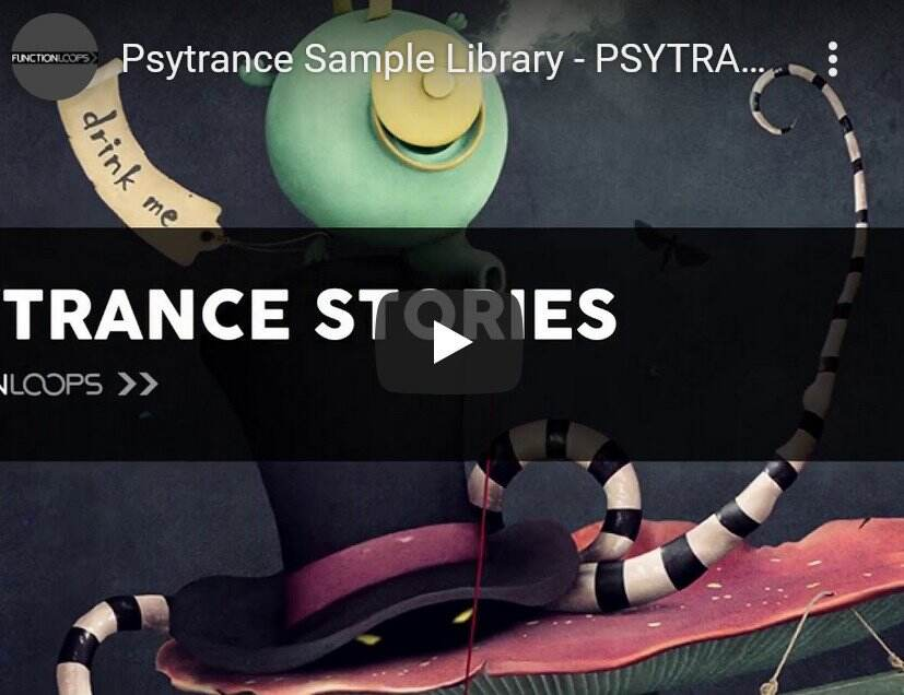 Function Loops Psytrance Stories WAV MiDi SYNTH PRESETS-DISCOVER